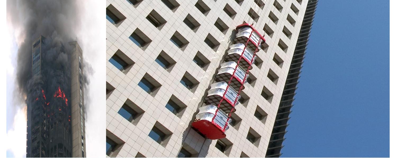 Hệ thống cứu trợ thoát hiểm Mở ra một cuộc cách mạng trong việc sơ tán và di tản người nhanh chóng và an toàn trong các khu nhà cao tầng khi gặp sự cố.